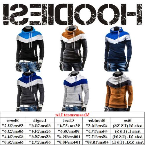 Men's Winter Warm Sweatshirt Jacket
