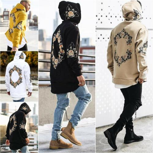 Men's Pullover Hoodie Warm Sweatshirt Coat Jacket Outwear Sweater
