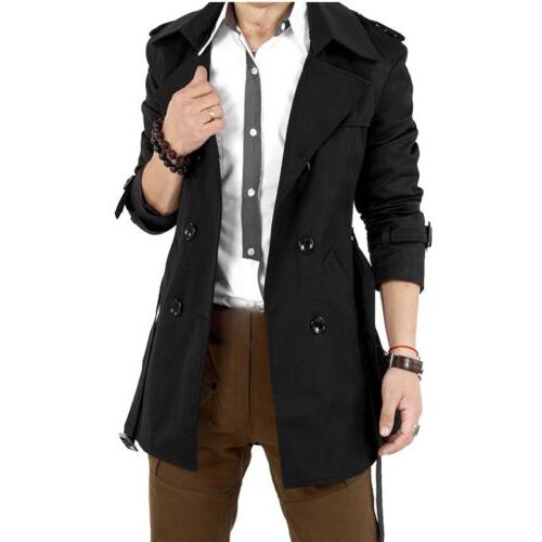 Men's Breasted Coat Jacket