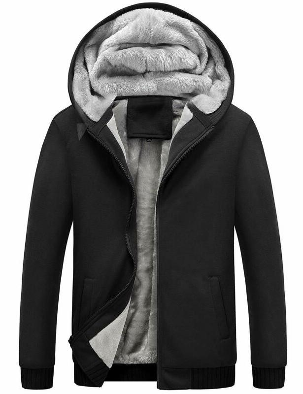 Yeokou Men'S Winter Fleece Sherpa