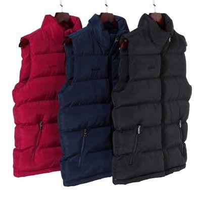 Men's Winter Warm Quilted Vest Padded Jacket Coat