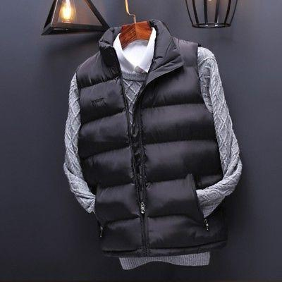 Men's Quilted Body Padded Coat Outwear