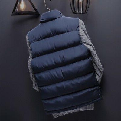 Men's Quilted Vest Padded