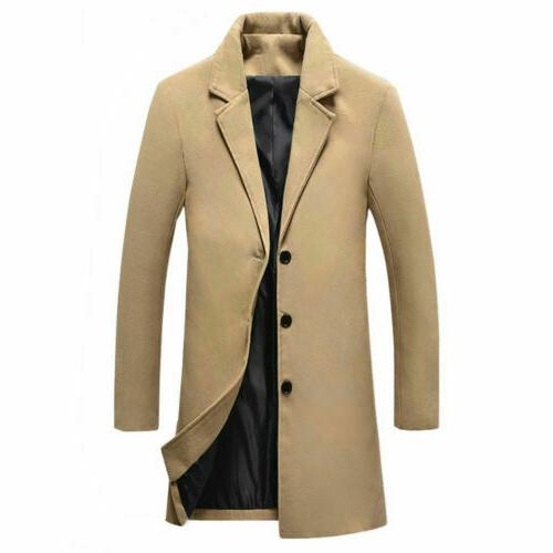 Winter Warm Trench Coat Outerwear