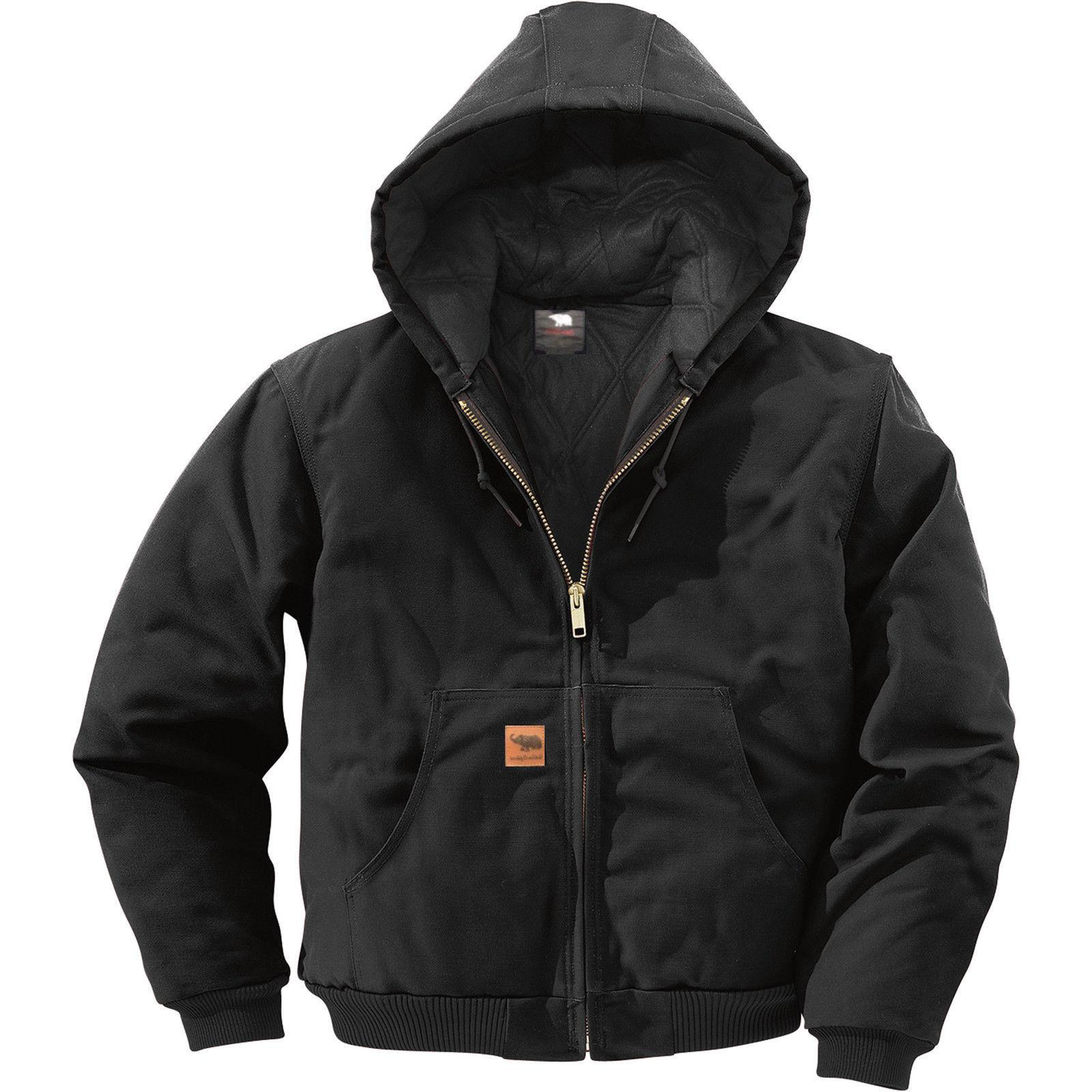 Men Sandstone Thermal Lined Industrial Winter