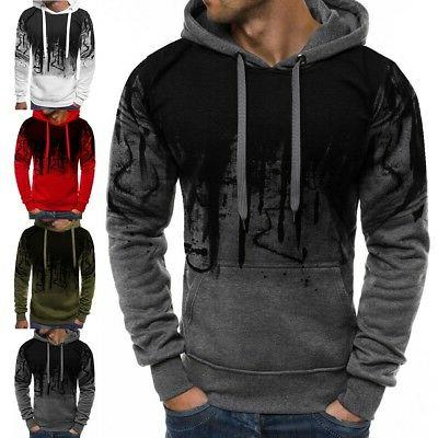 Men Winter Warm Sweatshirt Jacket Sweater