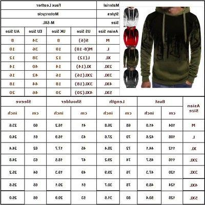 Men Winter Casual Hoodie Jacket Outwear