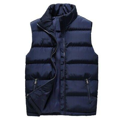 Men Winter Quilted Vest Body USA