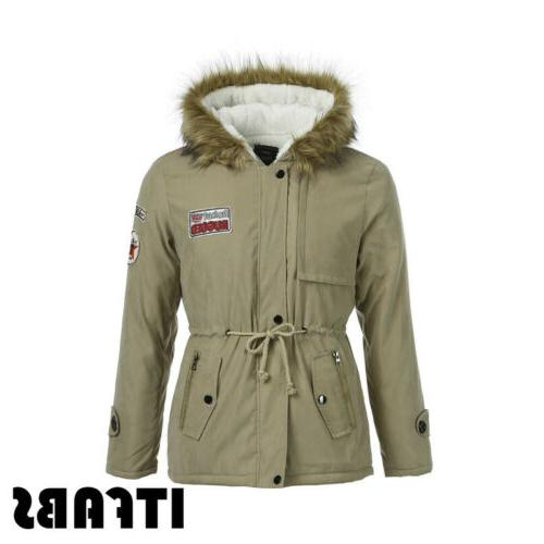 Men Thick Fur Collar Lined