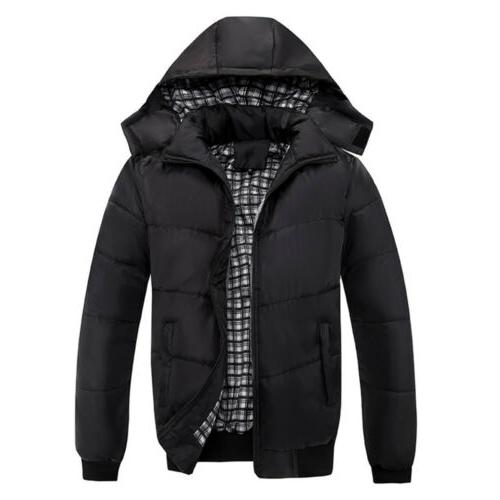 Men Hooded Jacket Zipper
