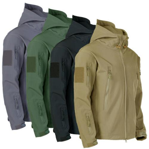 mens coats jackets tops military tactical fleece