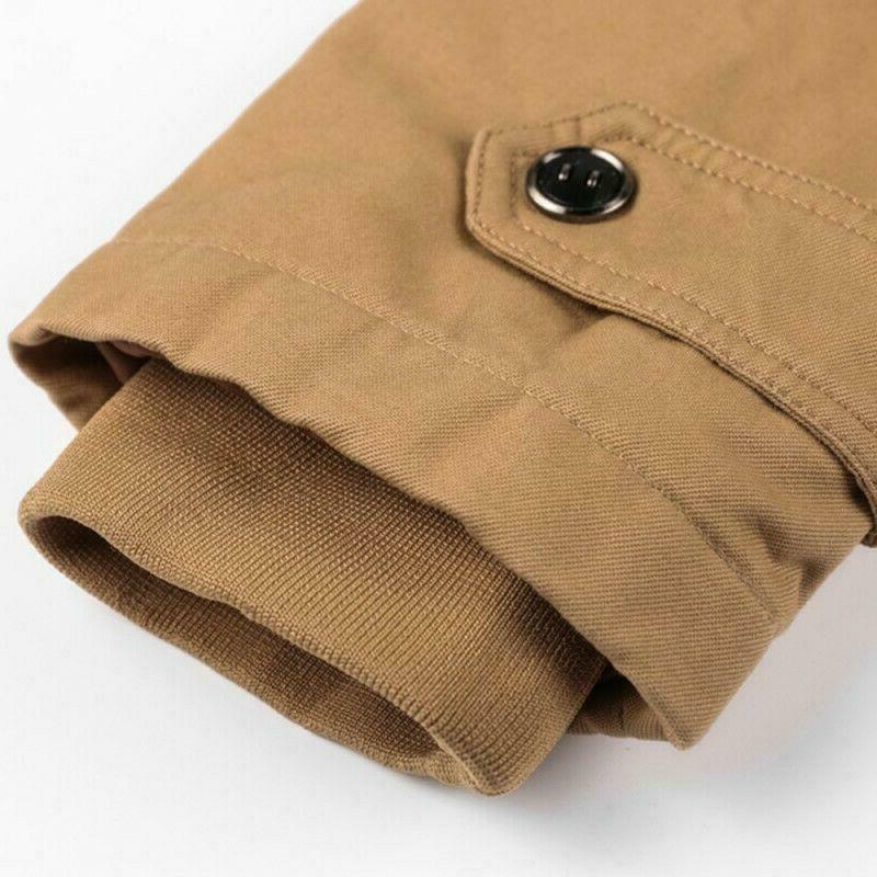 Men's Coats Cotton Jackets Thick Outerwears