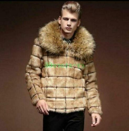 Mens Fleece Coats Jackets Collared Outwears Clothes Fashion