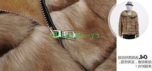 Mens Jackets Faux Fur Collared Outwears