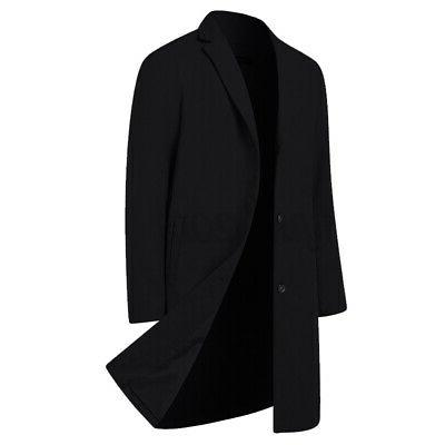 Mens Winter Breasted Jacket