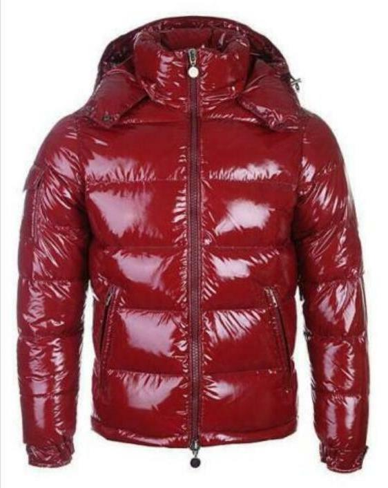 Mens Casual Down Parka Outerwear Long Jacket