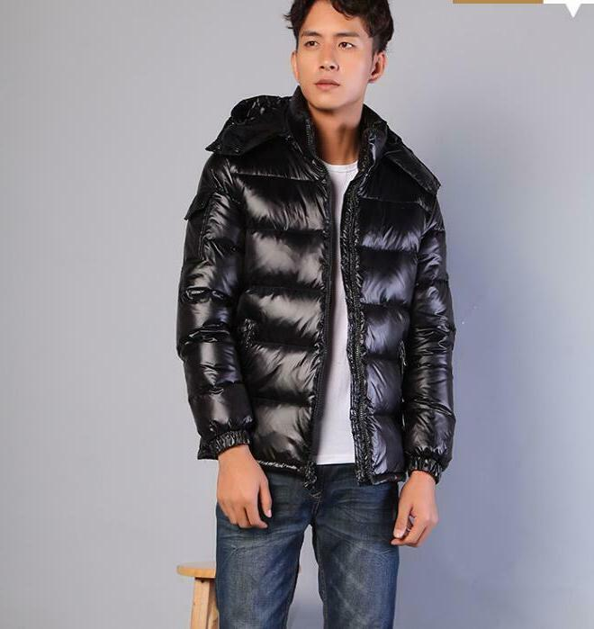 mens winter warm fashion casual down coat