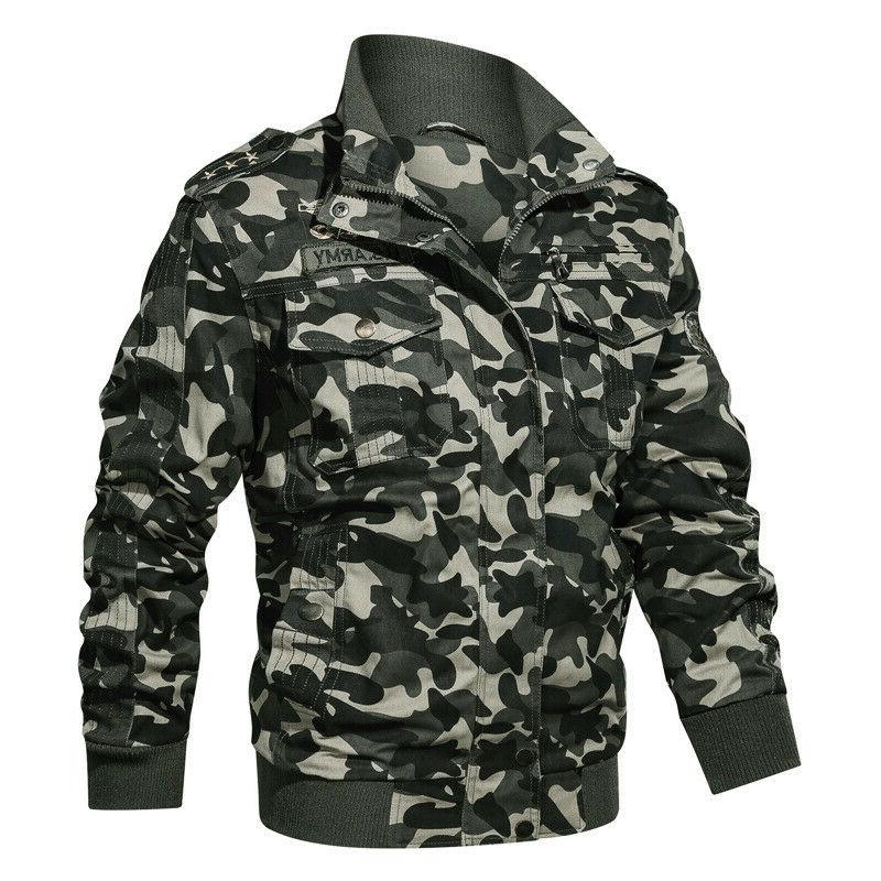 Military Men Spring Autumn Coat Army Men's