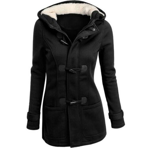 Women Parka Hooded Coat Outwear Winter Warm Overcoat