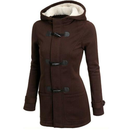 Multicolor Thickened Winter Warm Button Ladies
