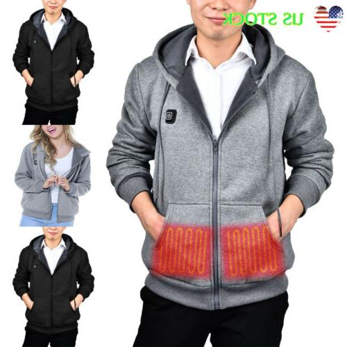 new fashion mens electric heating clothes winter