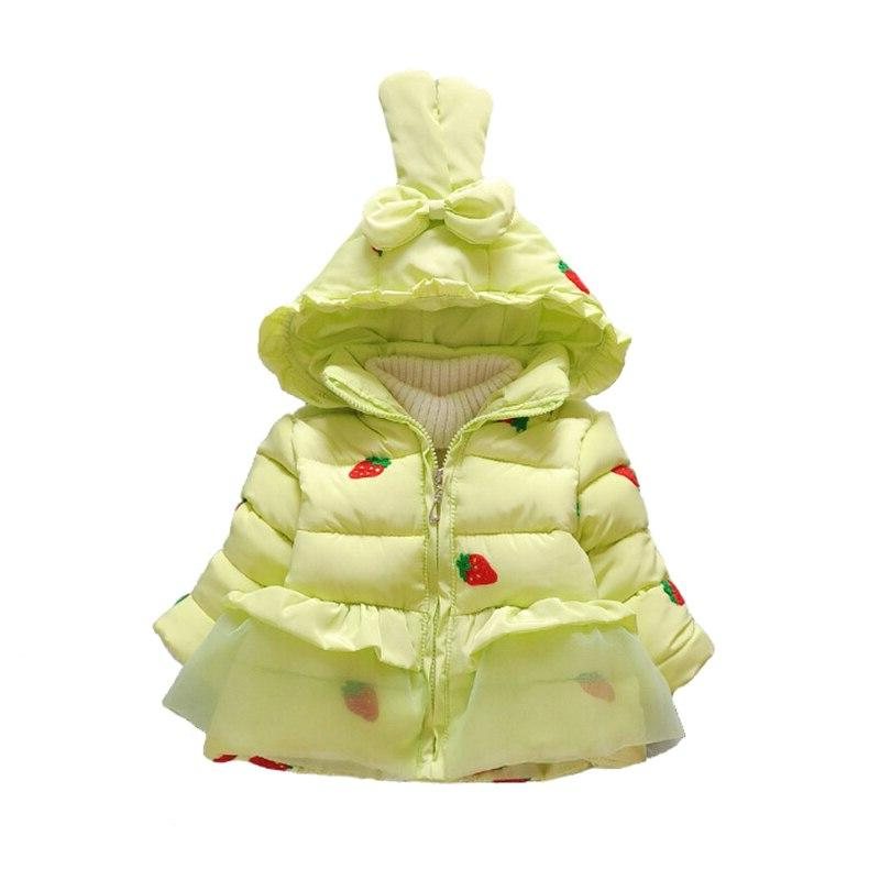 New <font><b>Winter</b></font> Clothes Children Hooded Thick <font><b>Coat</b></font> 2T