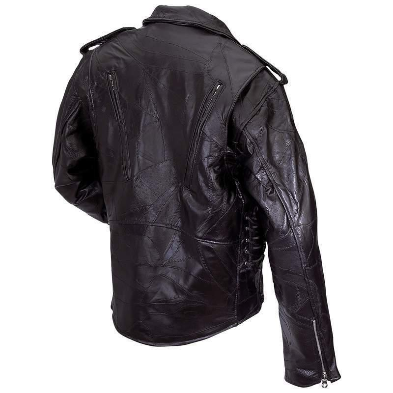 MOTORCYCLE Mens Genuine Buffalo Biker Out