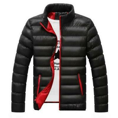 New Men's Warm Down light Outerwear Jacket Casual Overc