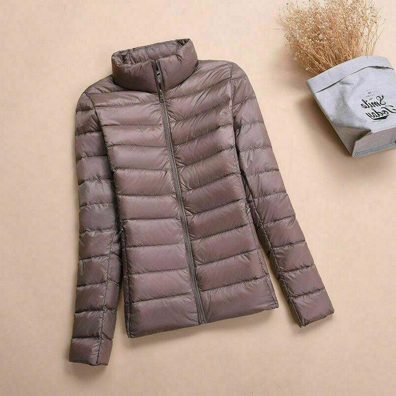 NEW Womens Duck Goose Ultralight Jacket Warm