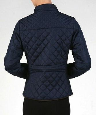 NEW Plus Size Winter Jacket Coat Zip Front Fitted-