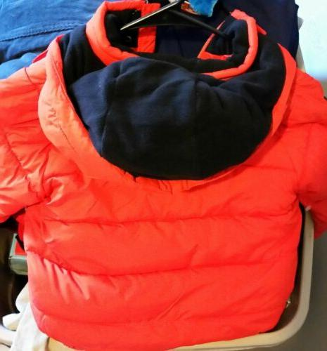 New Unisex Winter Puffer And Snap