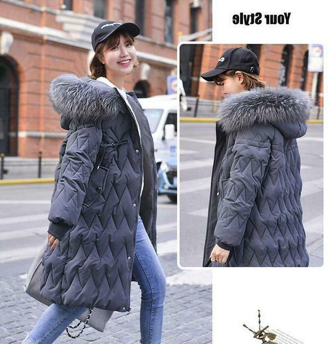 New Outwear Down Jacket Hooded Loose Coat