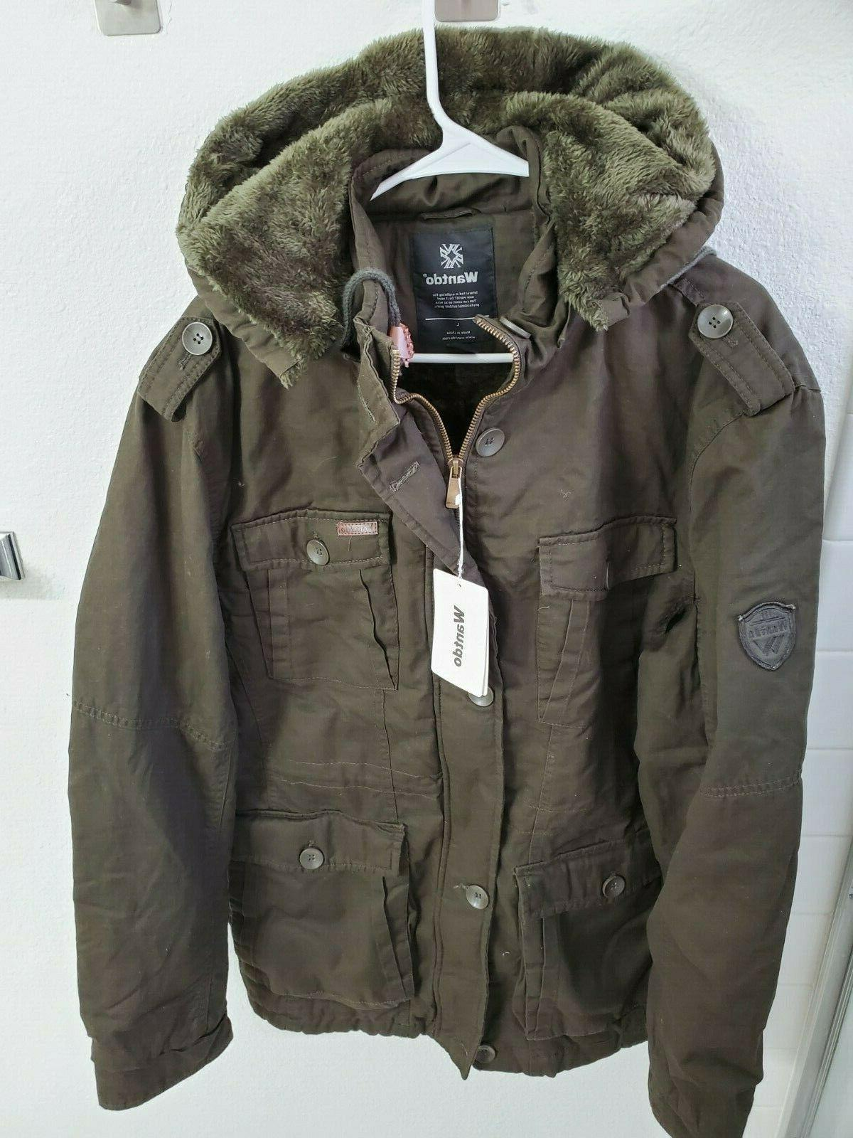 nwt men s winter quality outwear coat