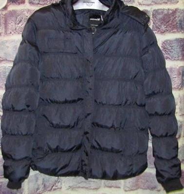 NWT Wantdo Size XL Dark Blue Puffer Winter Coat Jacket Zip O