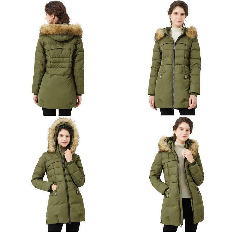 orolay women s down jacket with faux
