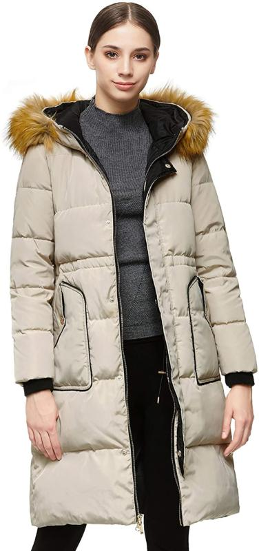 Orolay Women's Winter Coat with Hood Casual Jacket Mid