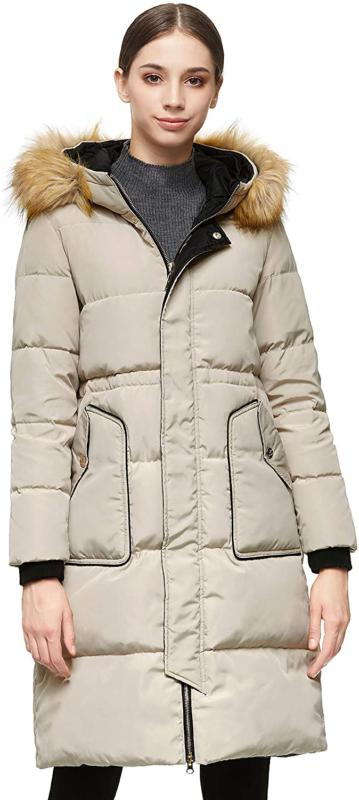 orolay womens winter down coat with hood