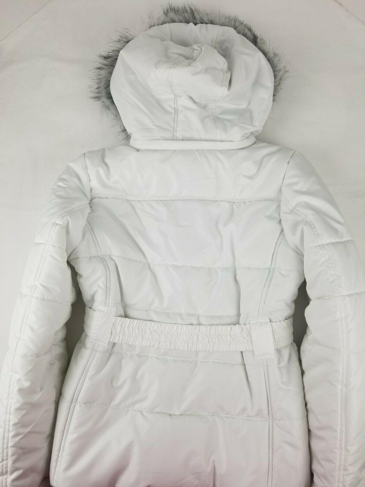 Dollhouse Outerwear Padded Coat with Faux