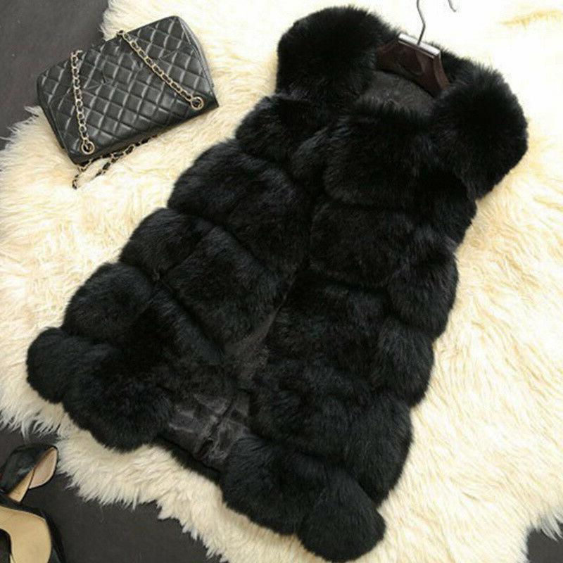 Plus Ladies Faux Matching Coat
