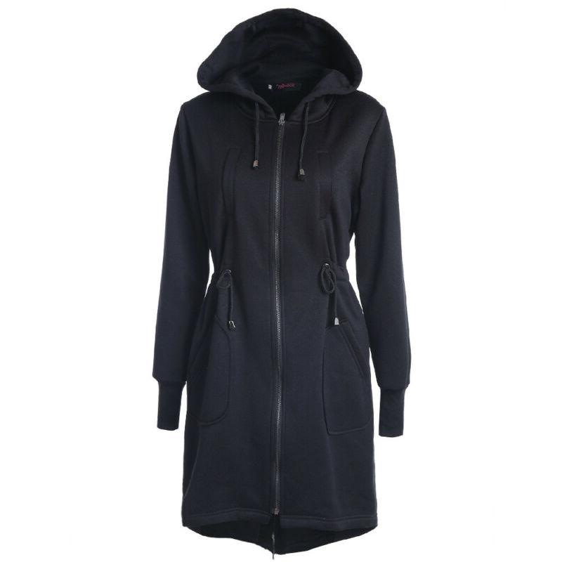 Hoodies Coat Winter Long