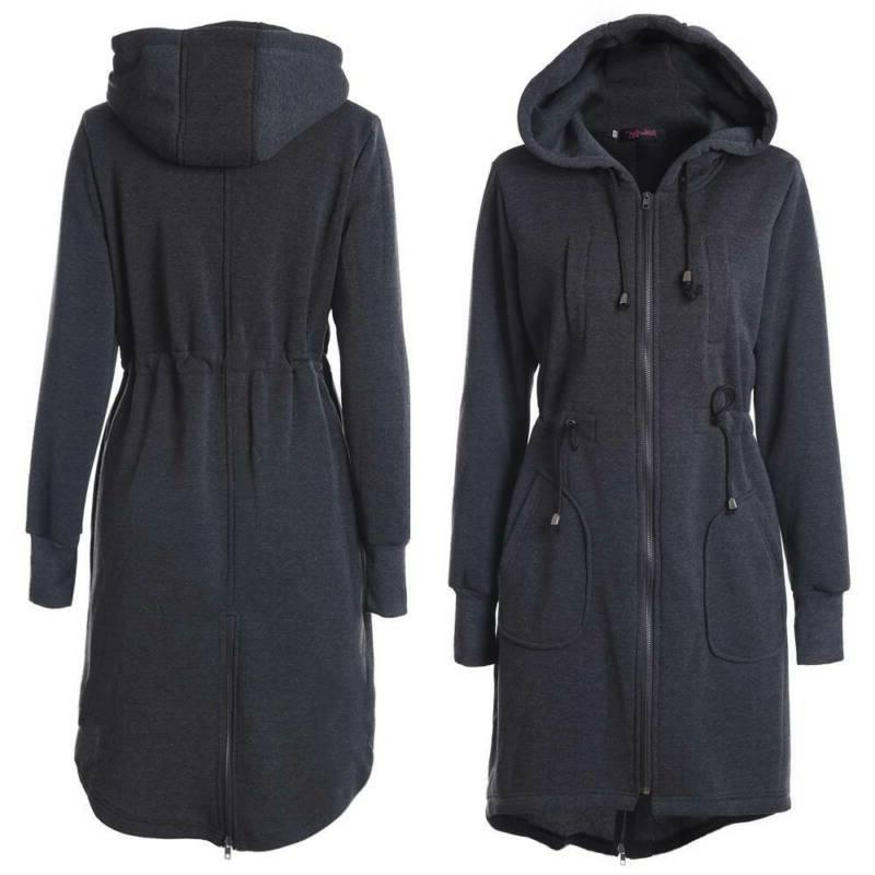 Plus Size Women's Hooded Hoodies Winter Casual