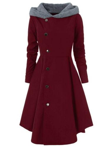 Womens Coat Trench Jacket Ladies Outwear