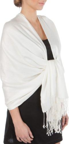 silky soft solid pashmina shawl