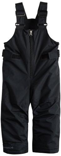 Columbia Snowslope II Bib Pant - Toddler Boys' Black, 3T