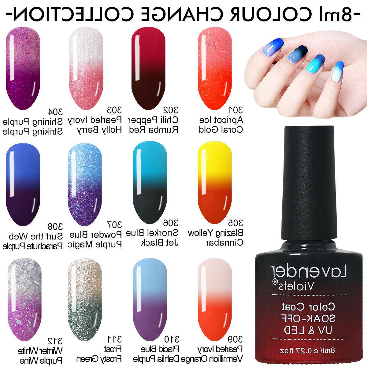 Soak Nail Colours Base 8ml Salon