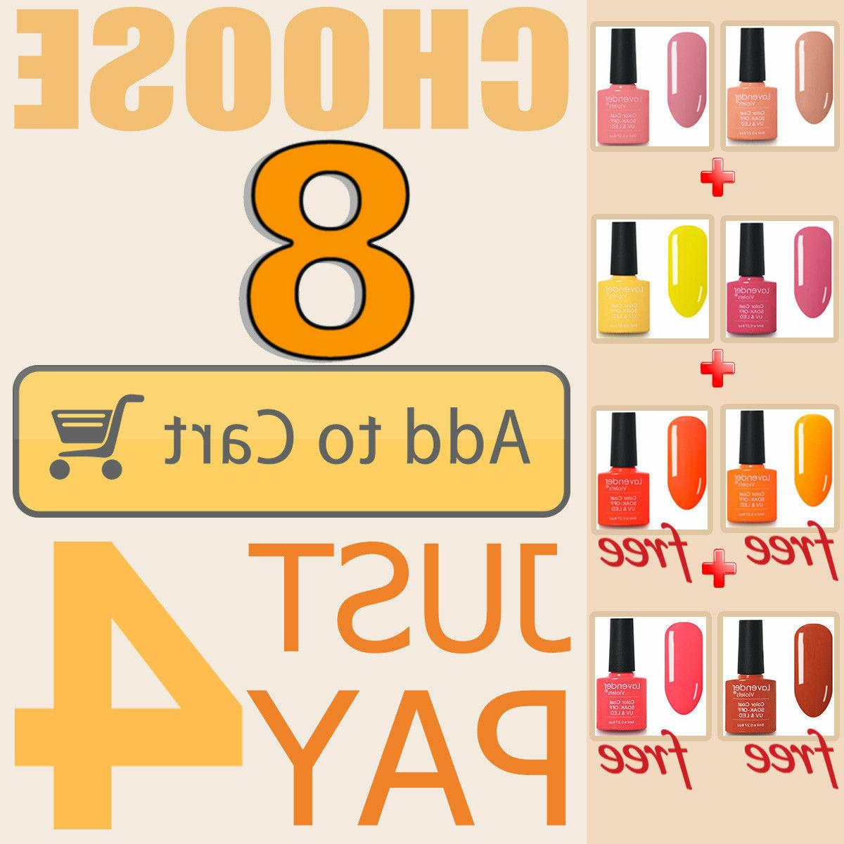Soak Color Nail Colours Base Salon