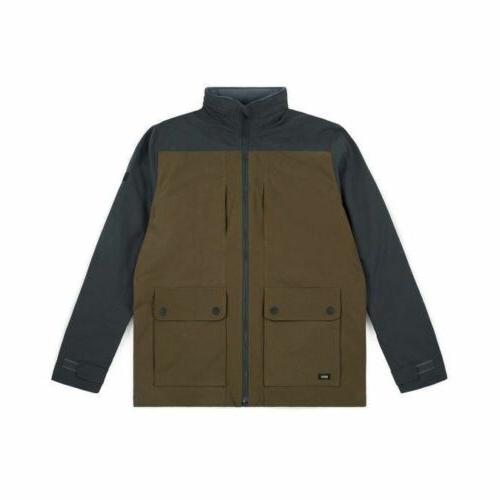 sureshot jacket bronze winter coat skateboard skate