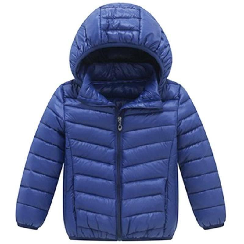 Toddler Girls Winter Casual Windproof Coat Hooded Outwear