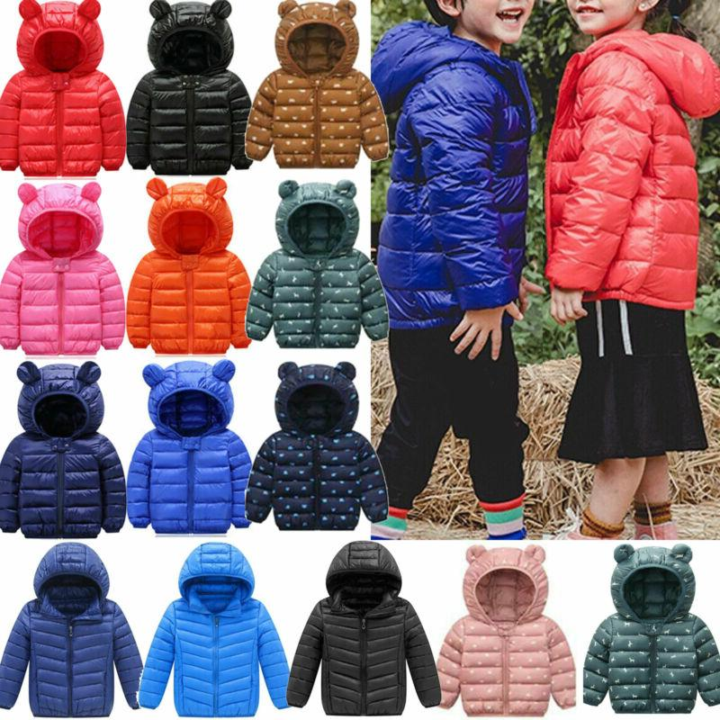 toddler baby girls boys winter casual windproof