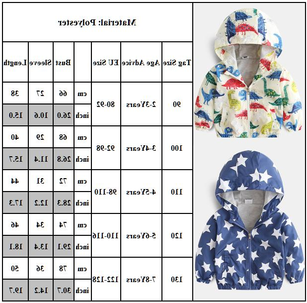 Boys Baby Toddler Kids Winter Outwear Tops